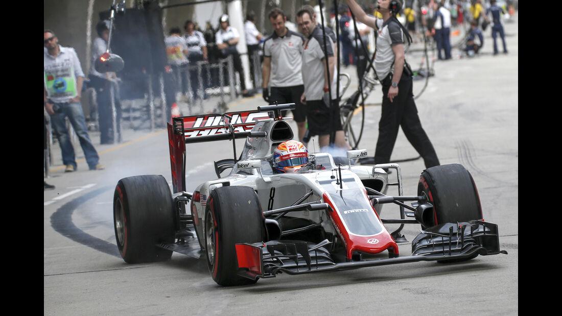 HaasF1 - GP China 2016