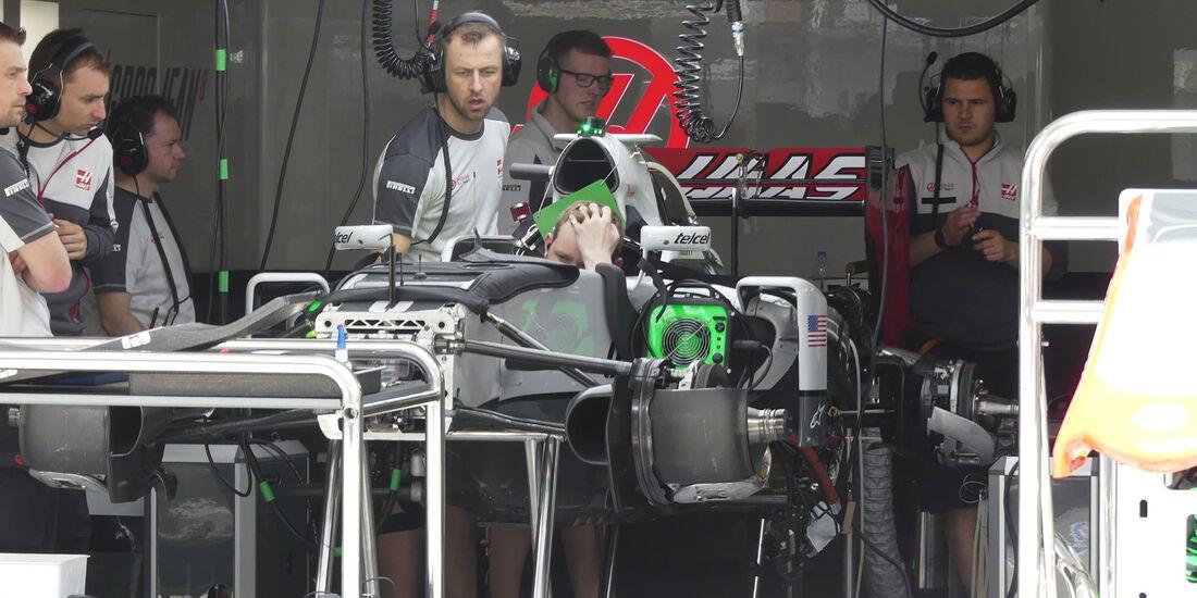 HaasF1 - GP China - Shanghai - Donnerstag - 14.4.2016