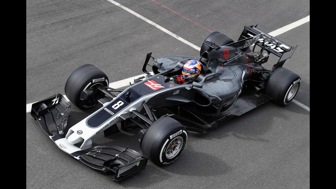 HaasF1 - GP England 2017