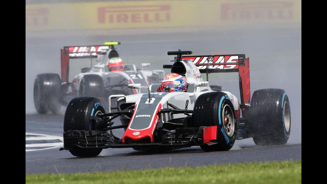 HaasF1 - GP England - Formel 1 - 2016