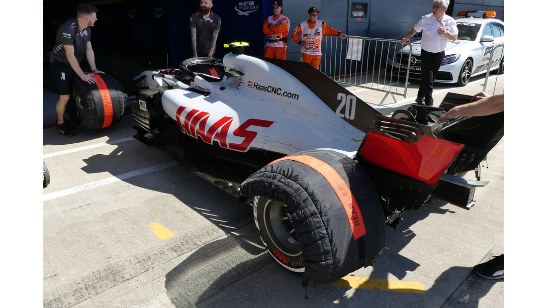 HaasF1 - GP England - Silverstone - Formel 1 - Donnerstag - 5.7.2018