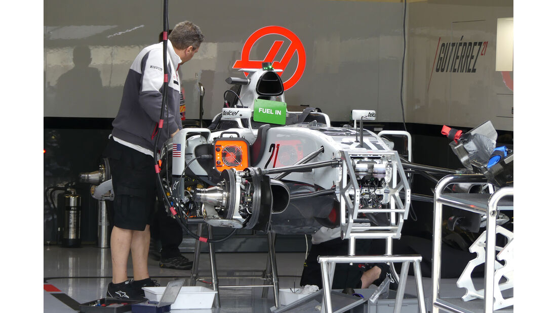 HaasF1 - GP England - Silverstone - Formel 1 - Donnerstag - 7.7.2016
