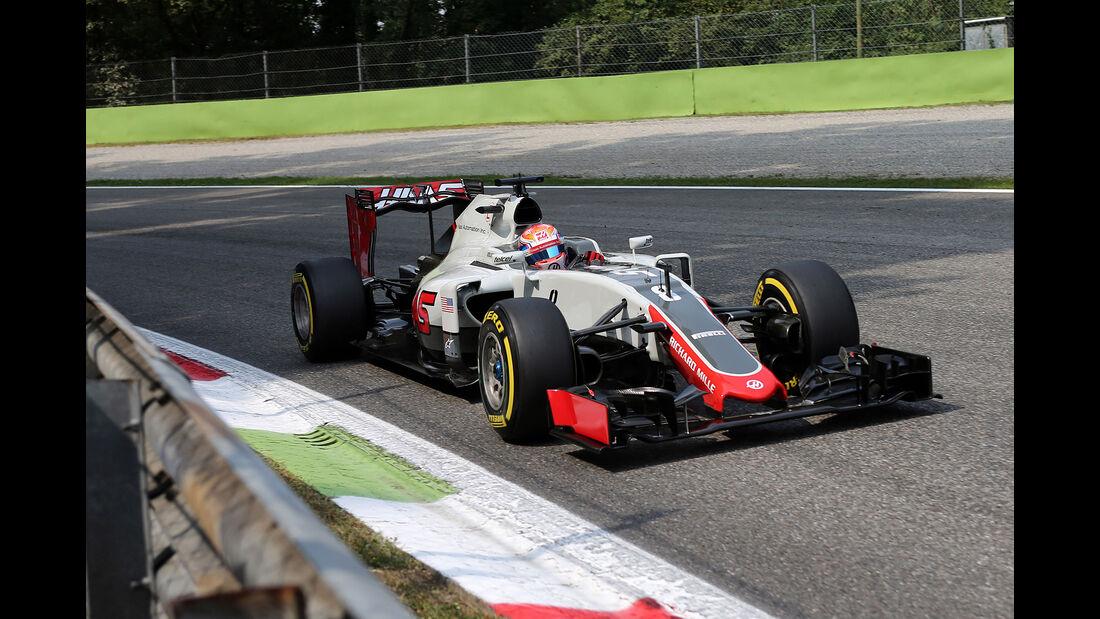 HaasF1 - GP Italien 2016