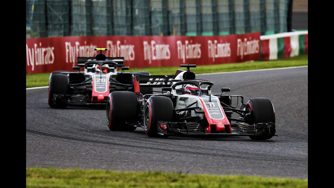 HaasF1 - GP Japan 2018
