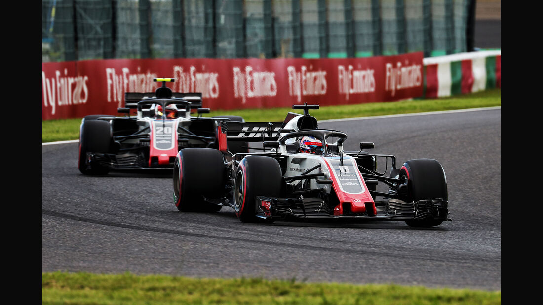 HaasF1 - GP Japan 2018