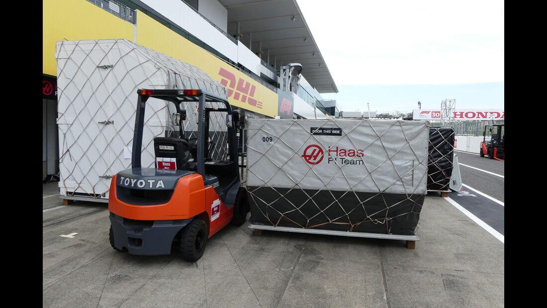 HaasF1 - GP Japan - Suzuka - Mittwoch - 3.10.2018