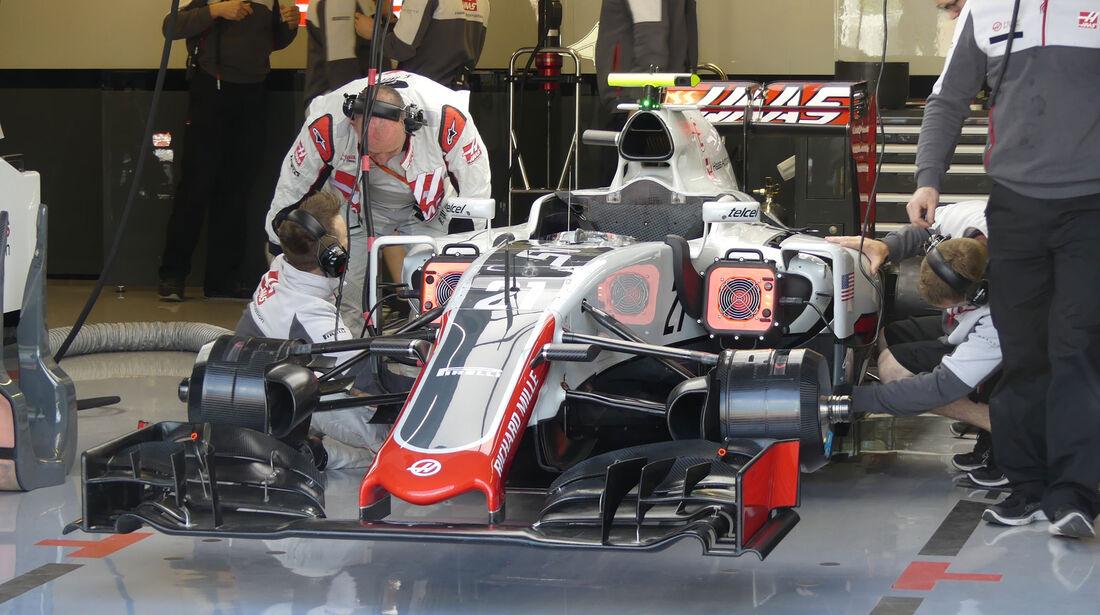 HaasF1 - GP Kanada - Montreal - Freitag - 10.6.2016