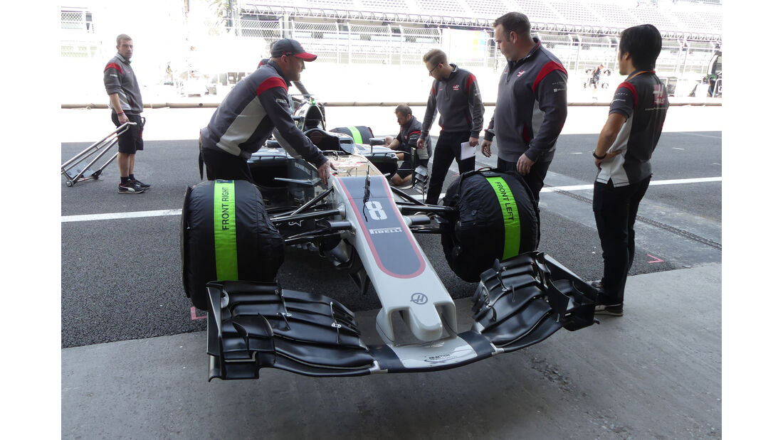 HaasF1 - GP Mexiko - Formel 1 - Donnerstag - 26.10.2017