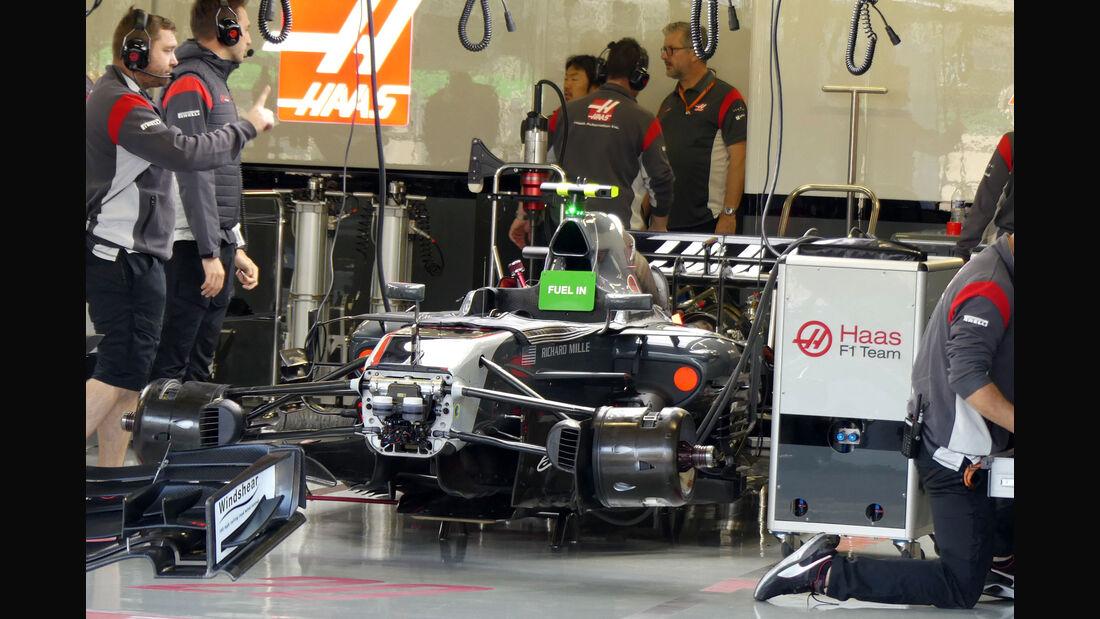 HaasF1 - GP Mexiko - Formel 1 - Freitag - 27.10.2017