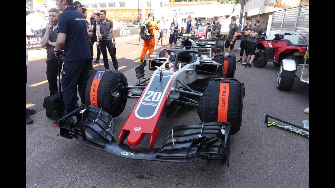 HaasF1 - GP Monaco - Formel 1 - Freitag - 25.5.2018