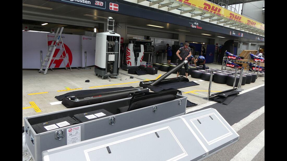 HaasF1 - GP Russland - Sotschi - Formel 1 - Mittwoch - 26.09.2018