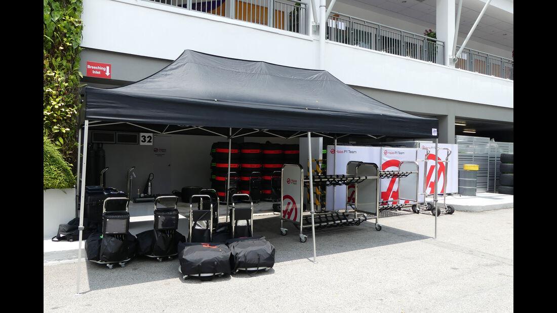 HaasF1 - GP Singapur - Formel 1 - Donnerstag - 14.9.2017