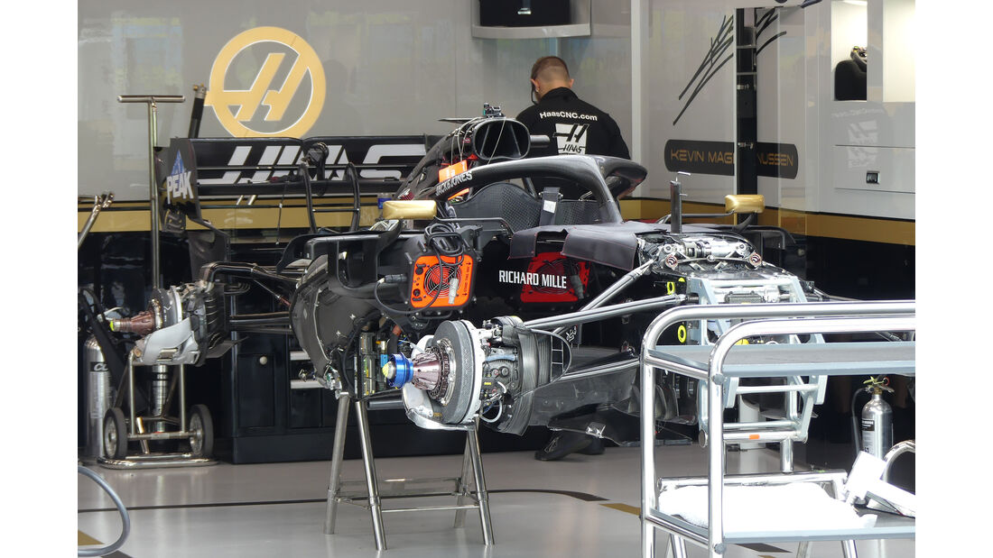 HaasF1 - GP Singapur - Formel 1 - Donnerstag - 19.9.2019