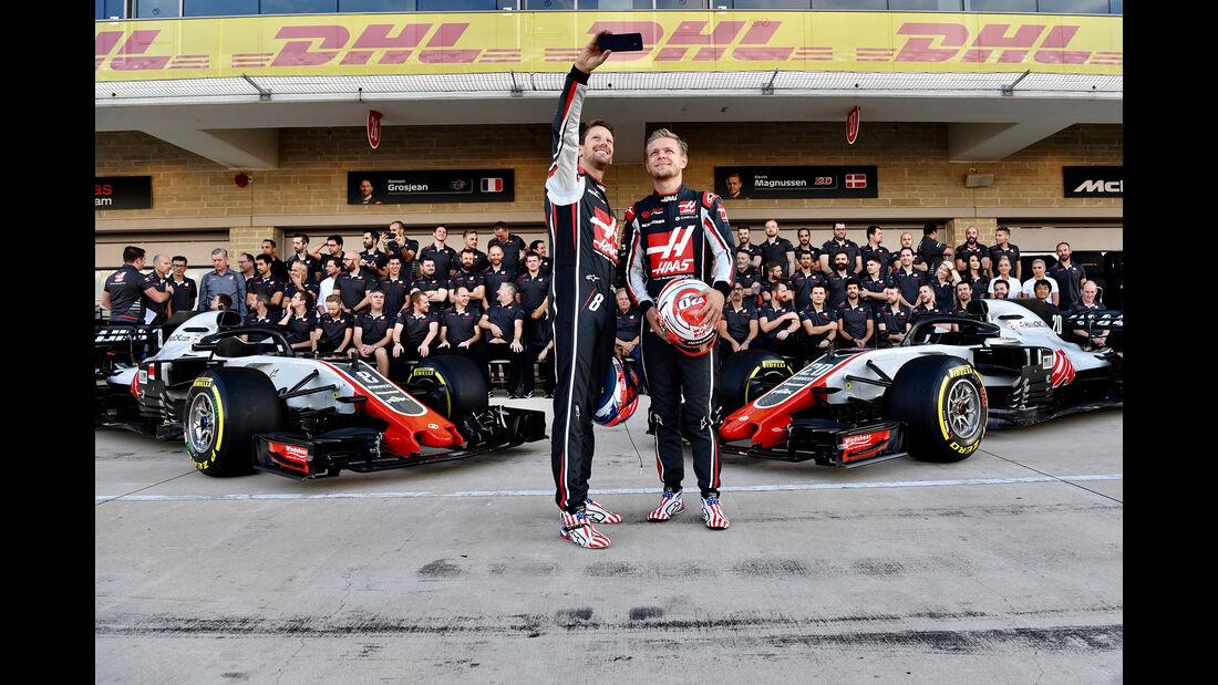 HaasF1 - GP USA 2018