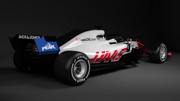 HaasF1 - GP USA Sponsor - 2018