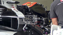 HaasF1 - GP Ungarn - Budapest - Formel 1 - Mittwoch - 25.7.2018