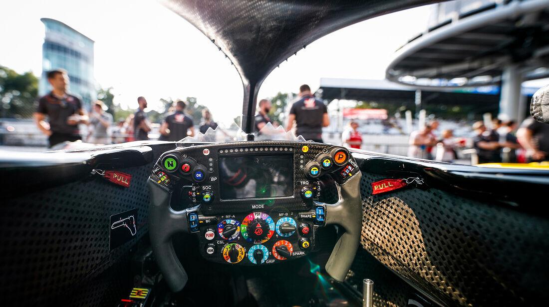 HaasF1 - Halo - Cockpit - GP Italien 2018