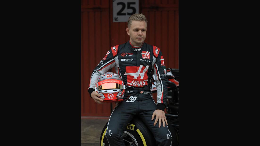 HaasF1 - Kevin Magnussen - Testfahrten Barcelona - 27.2.2017
