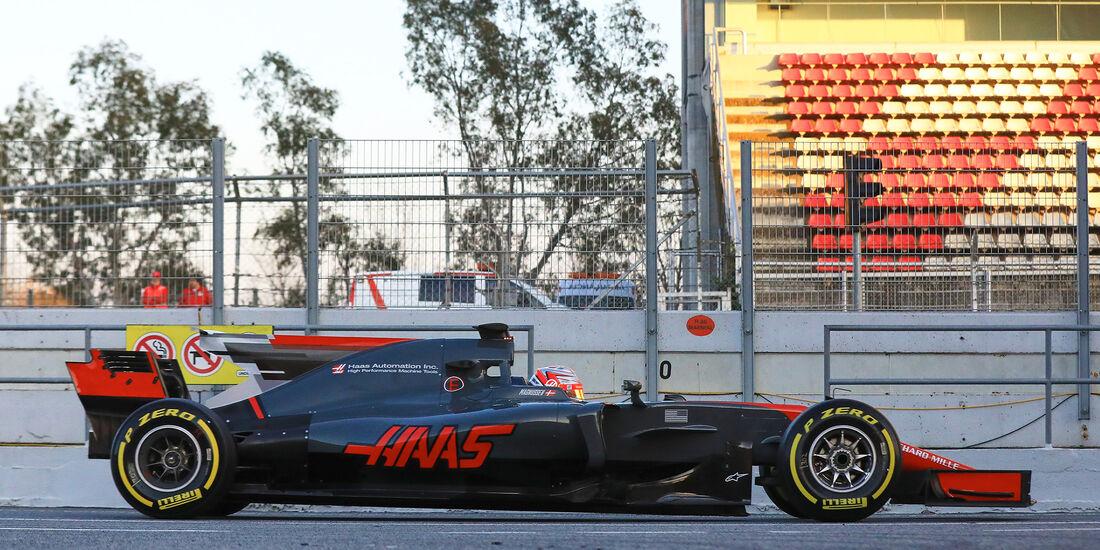 HaasF1 - Profil - F1 - Barcelona Test 2017
