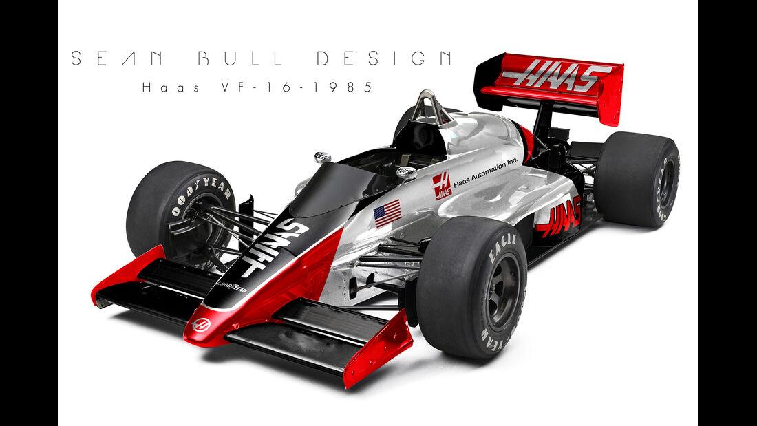 HaasF1 - Retro F1 - Sean Bull