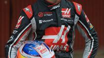 HaasF1 - Romain Grosjean - Testfahrten Barcelona - 27.2.2017