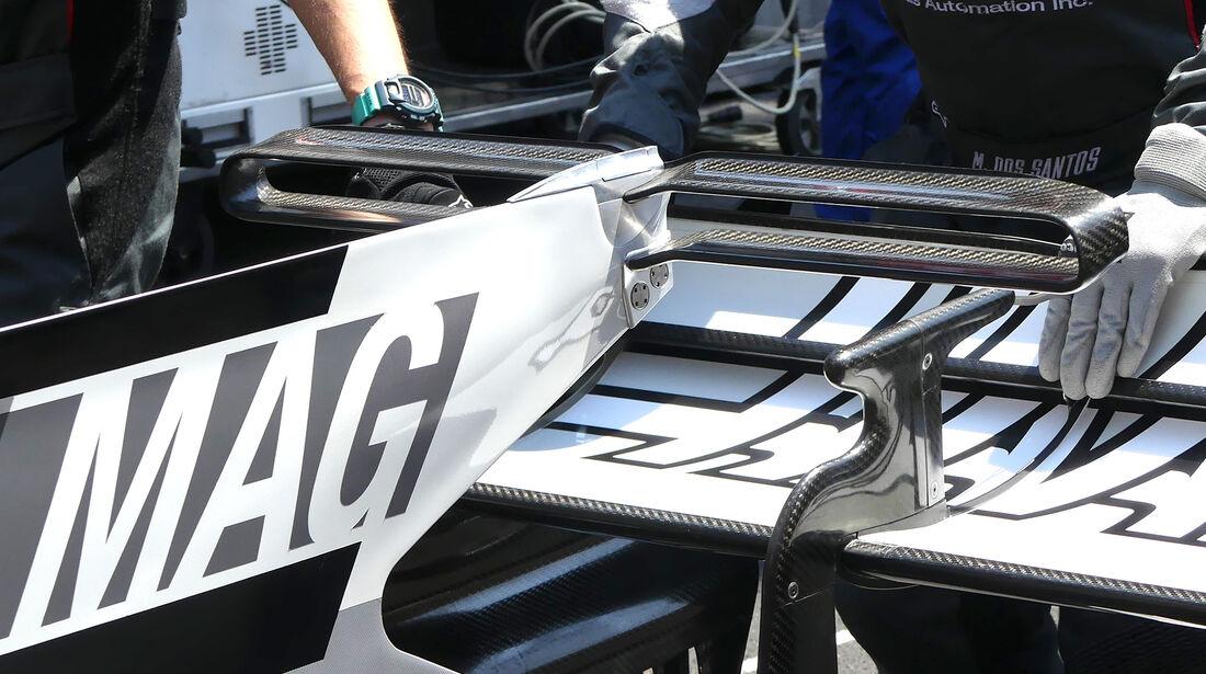 HaasF1 - T-Flügel - F1-Technik - GP Monaco 2017