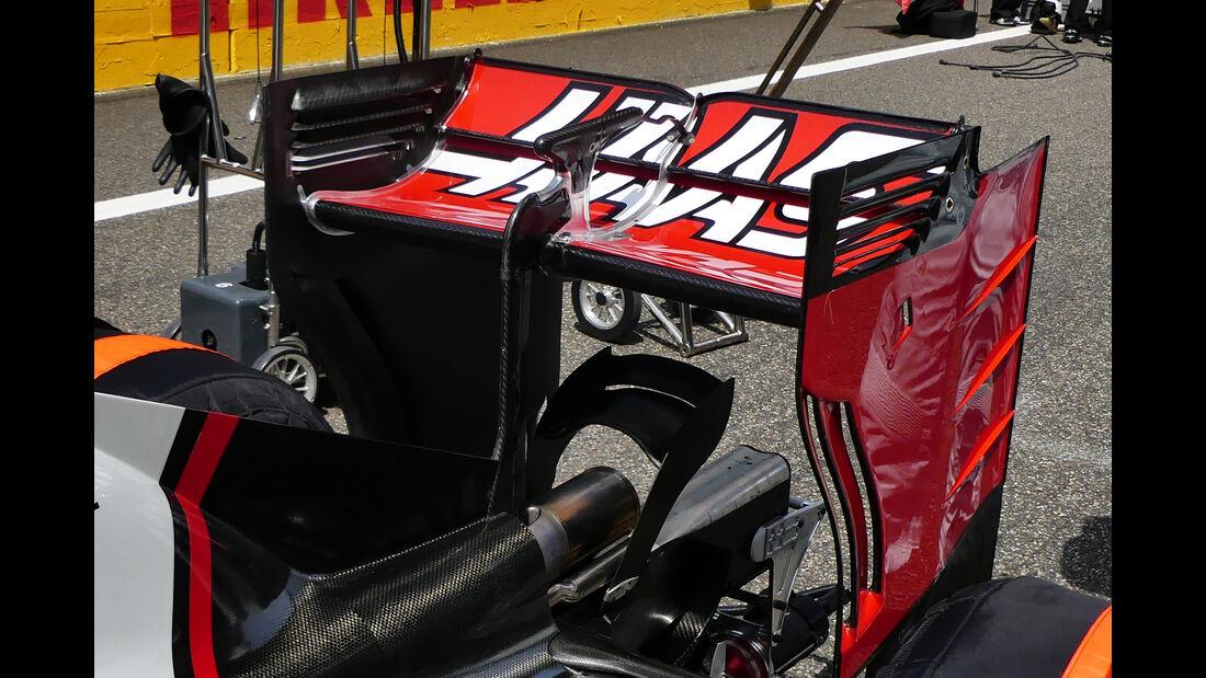 HaasF1 - Technik - GP Italien 2016