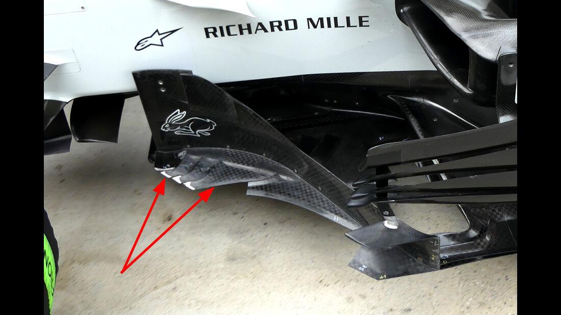 HaasF1 - Technik - GP Monaco 2018
