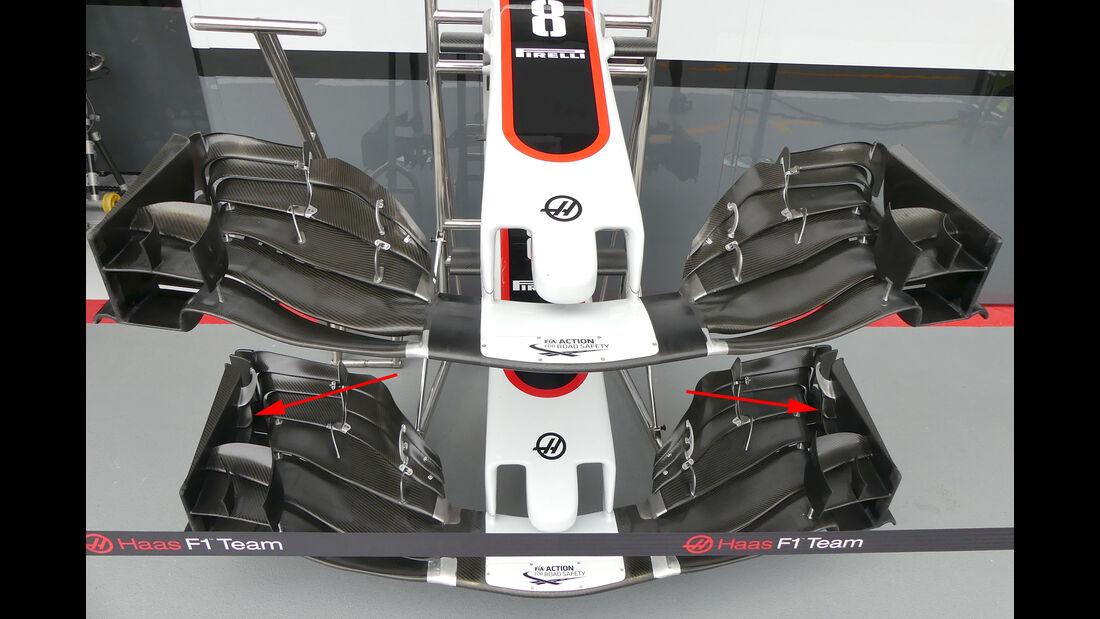 HaasF1 - Technik - GP Singapur 2017