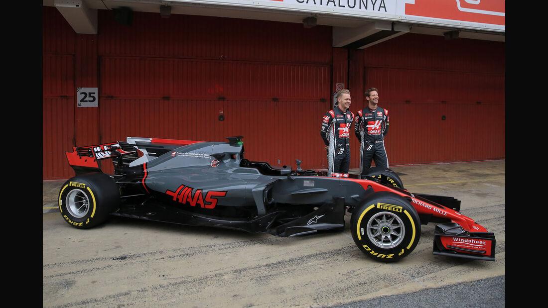 HaasF1 VF-17 - Formel 1 2017 - Rennwagen