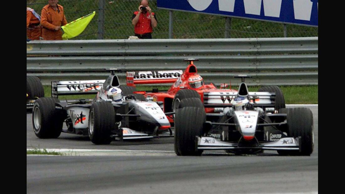 Häkkinen & Coulthard 1999