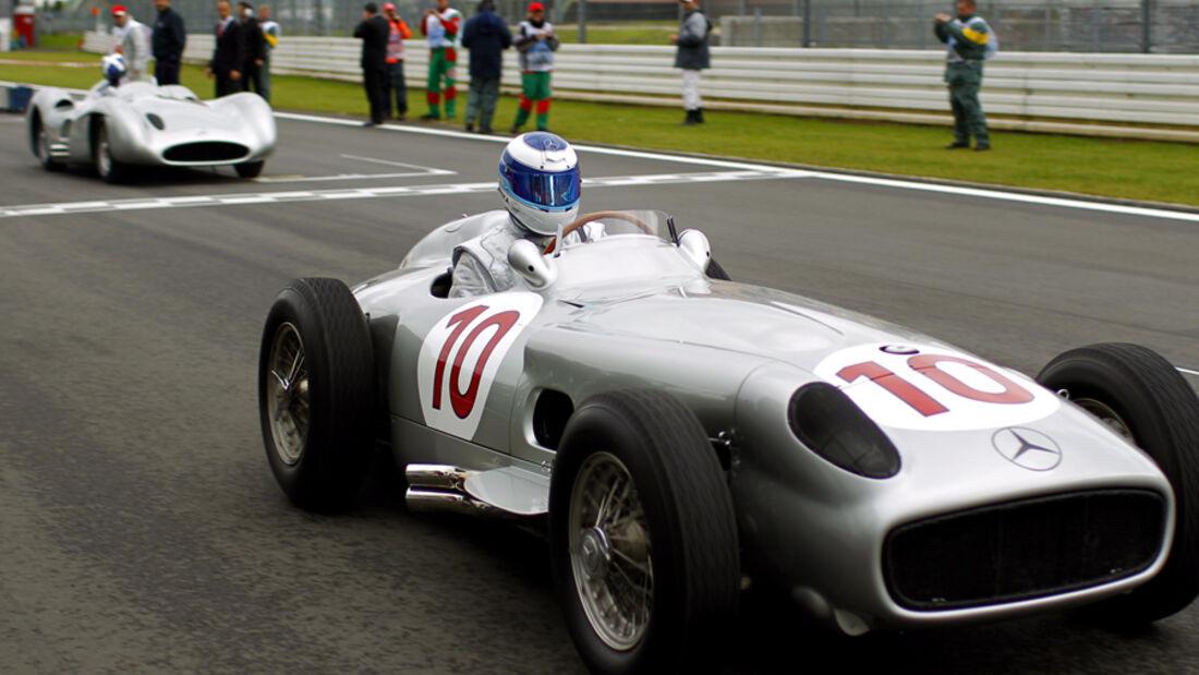 Häkkinen & Coulthard im Mercedes W196