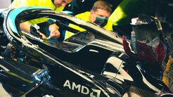 Halo - Lewis Hamilton - GP Italien 2021