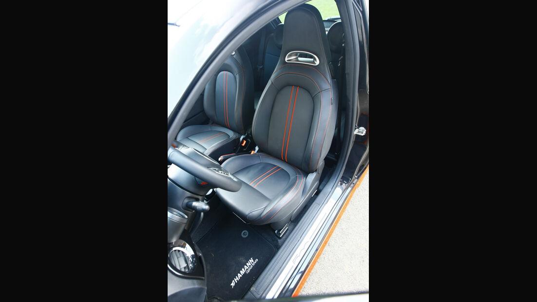 Hamann-500 Abarth Largo HS II Fahrersitz