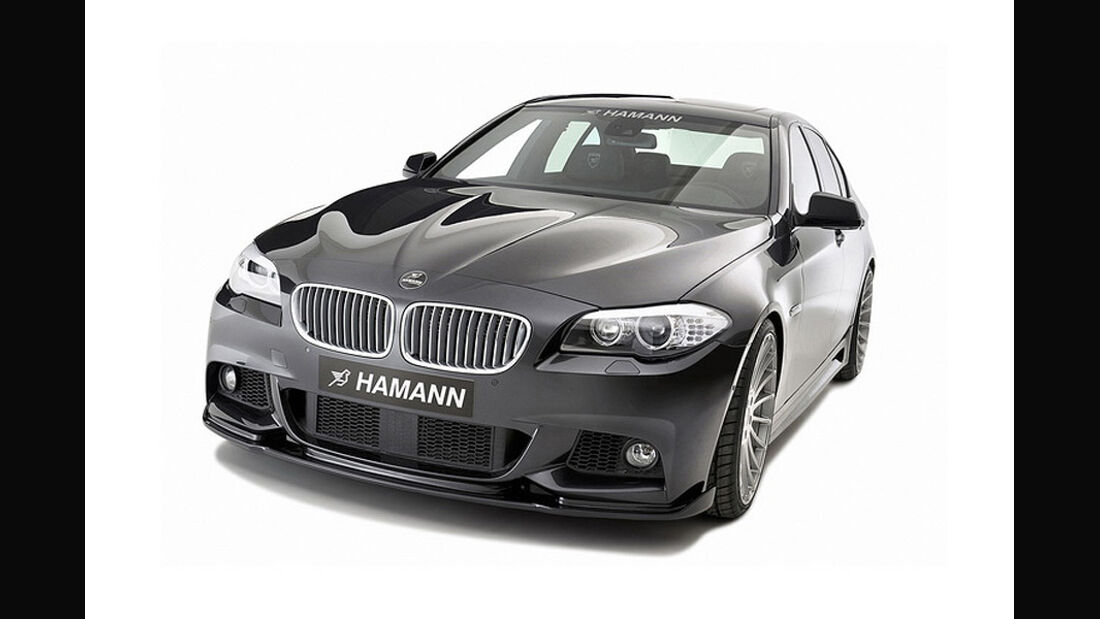 Hamann BMW 5er M Sport Paket Genfer Autosalon