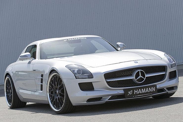 Hamann Mercedes SLS AMG, Flügeltürer, Tuning
