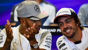 Hamilton & Alonso - Formel 1 - GP Belgien - Spa-Francorchamps - 25. August 2016