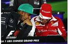Hamilton & Alonso - Formel 1 - GP China - Shanghai - 17. April 2014