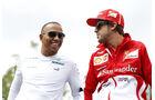 Hamilton & Alonso - GP Italien 2013