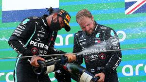 Hamilton - Bootas - GP Spanien 2020 - Barcelona