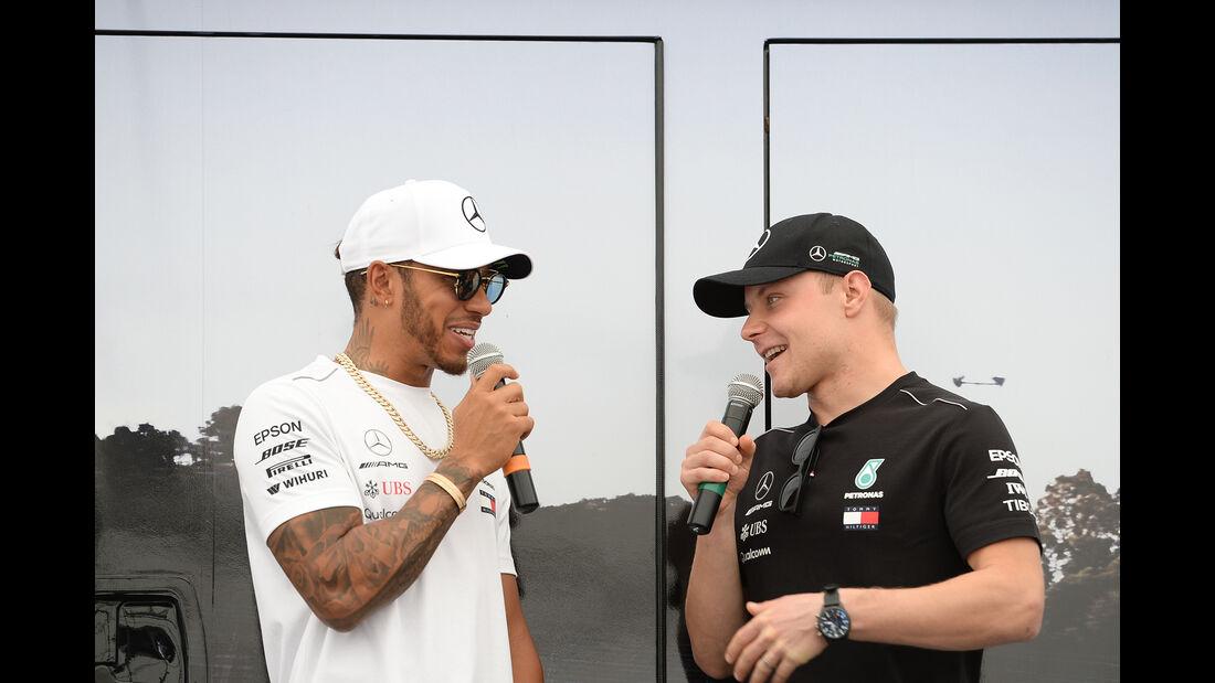 Hamilton & Bottas - Formel 1 - GP Bahrain - 7. April 2018