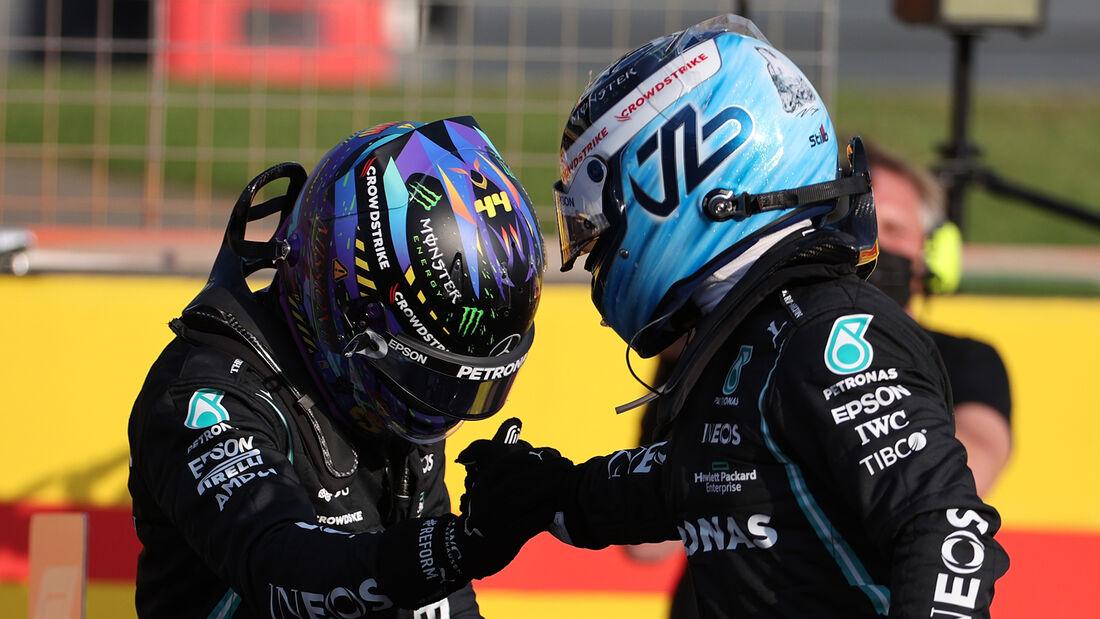 Hamilton & Bottas - Formel 1 - GP England 2021