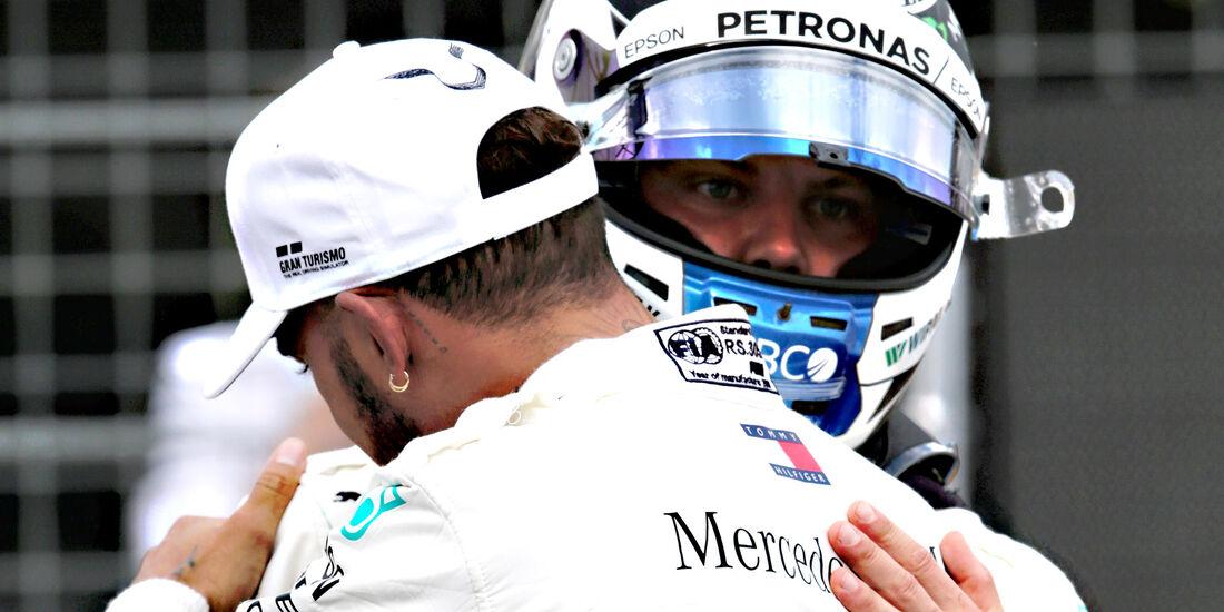 Hamilton & Bottas - Formel 1 - GP Frankreich - Circuit Paul Ricard - Le Castellet - 23. Juni 2018