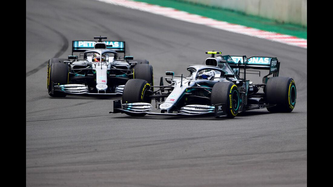 Hamilton & Bottas - Formel 1 - GP Mexiko - 26. Oktober 2019