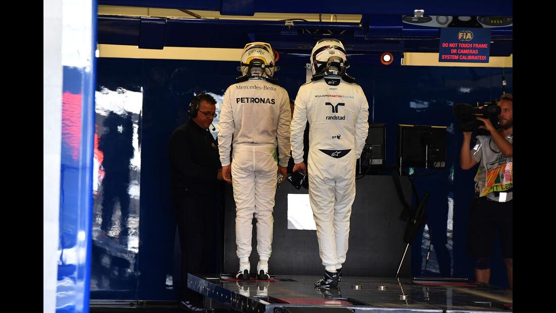 Hamilton & Bottas - Formel 1 - GP Mexiko - 29. Oktober 2016