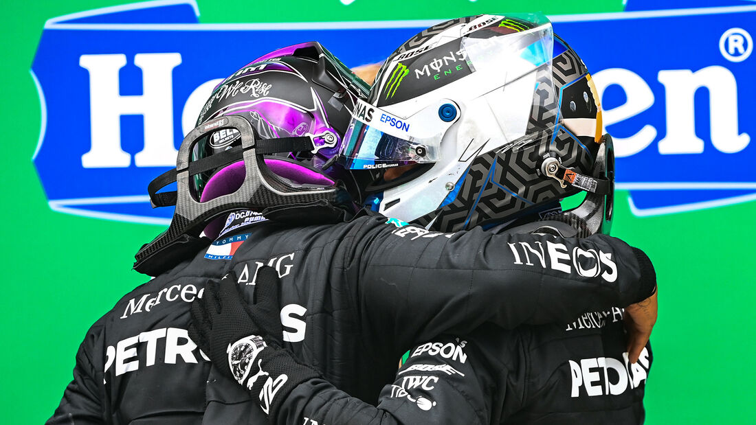 Hamilton & Bottas - Formel 1 - GP Portugal 2020