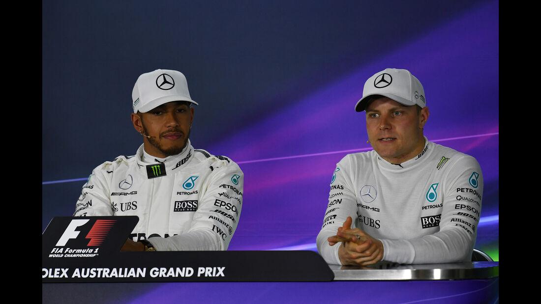 Hamilton & Bottas - GP Australien - Melbourne - 25. März 2017