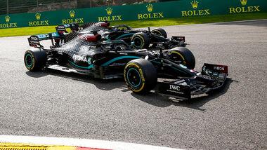 Hamilton & Bottas - GP Belgien 2020