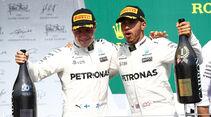 Hamilton & Bottas - GP Kanada 2017