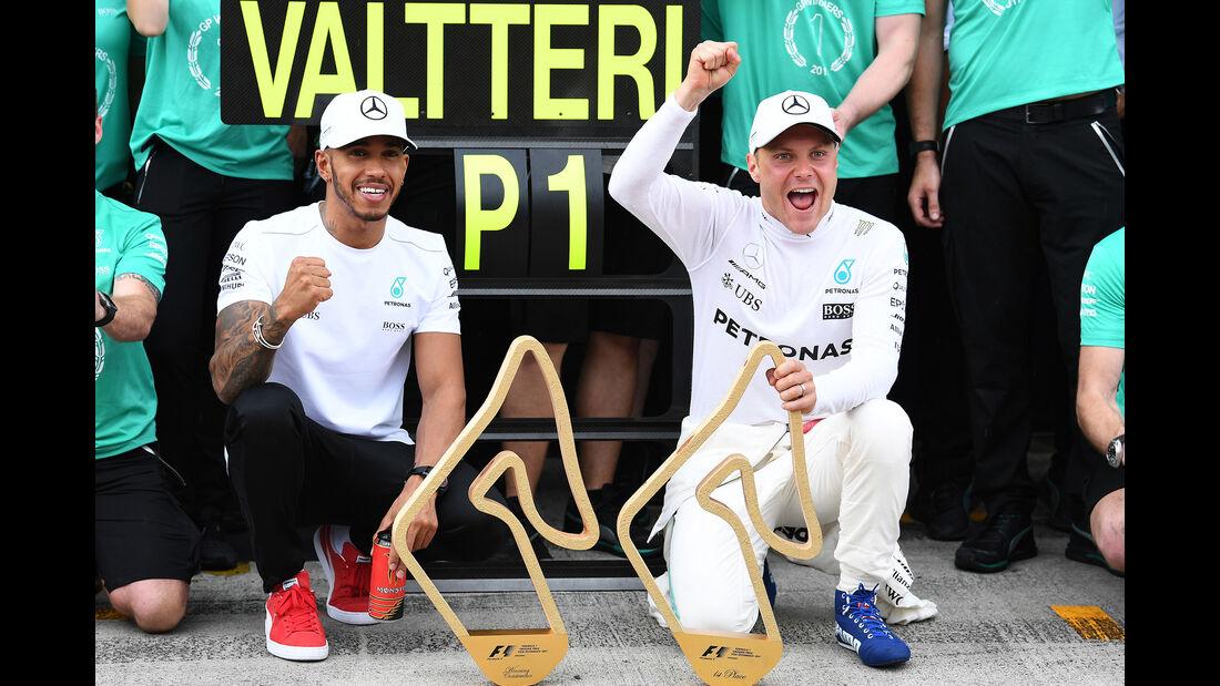 Hamilton & Bottas - GP Österreich 2017